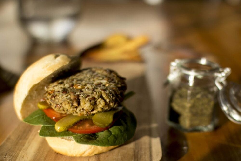 Simply Seaweed Rice Burger