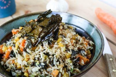 Stekt ris med butare